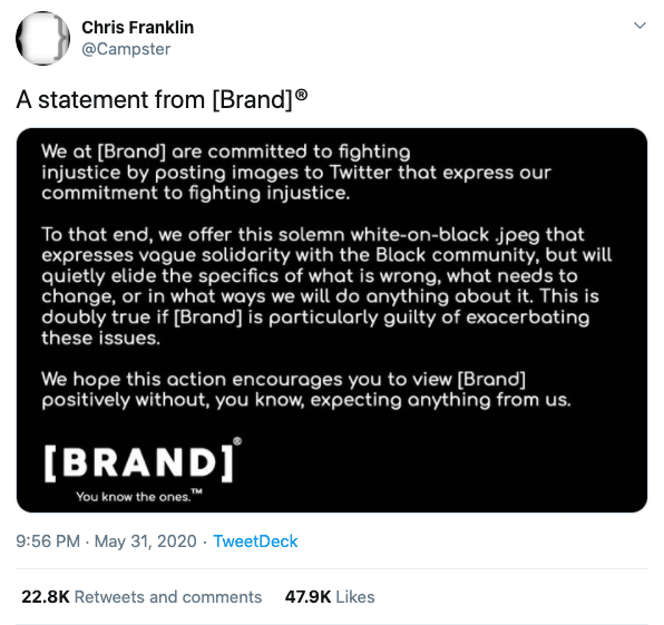 Why your brand shouldn't stay silent on social issues