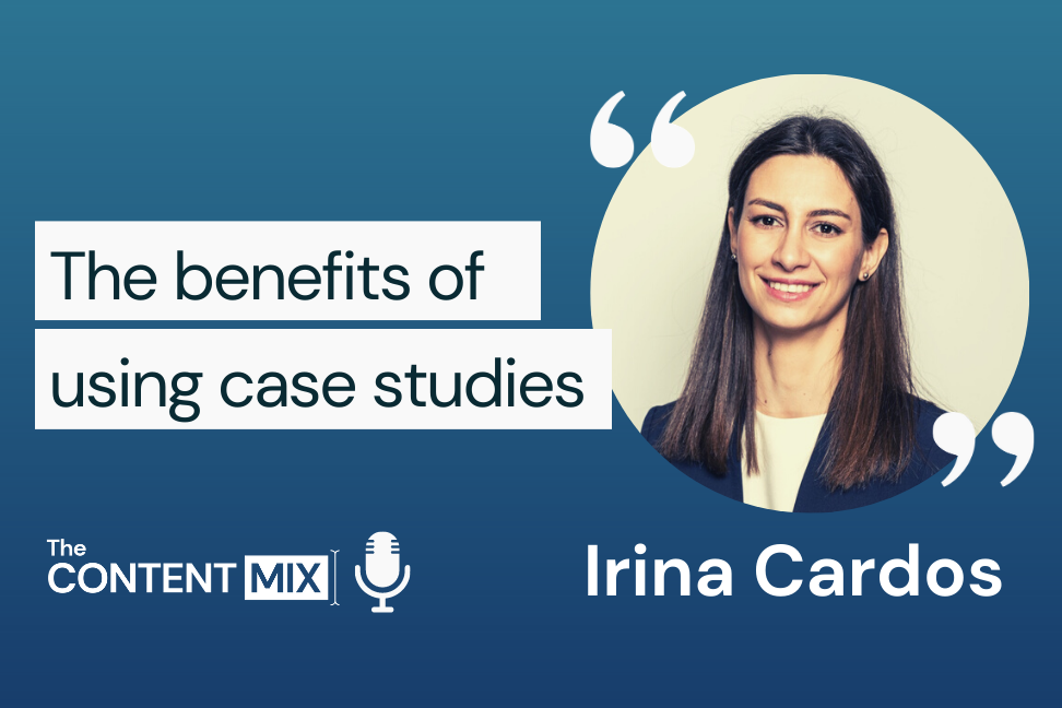 Here is a transcript generated by Otter.ai of The Content Mix podcast interview with VeraContent's Shaheen Samavati and Irina Cardos, global marketing communications manager for ABB, on the importance of case studies in the B2B sphere: