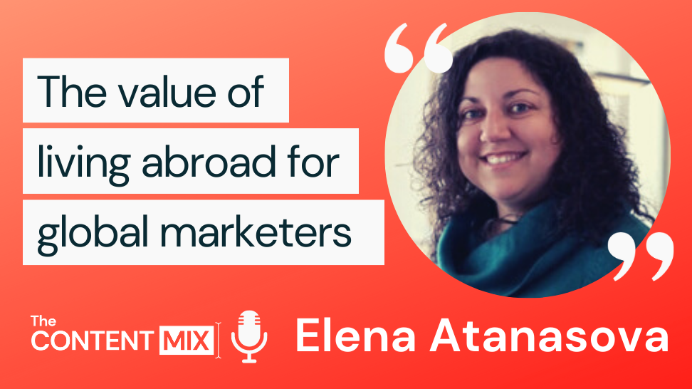 The Content Mix podcast interview with VeraContent's Shaheen Samavati and Elena Atanasova, on international marketing strategies: