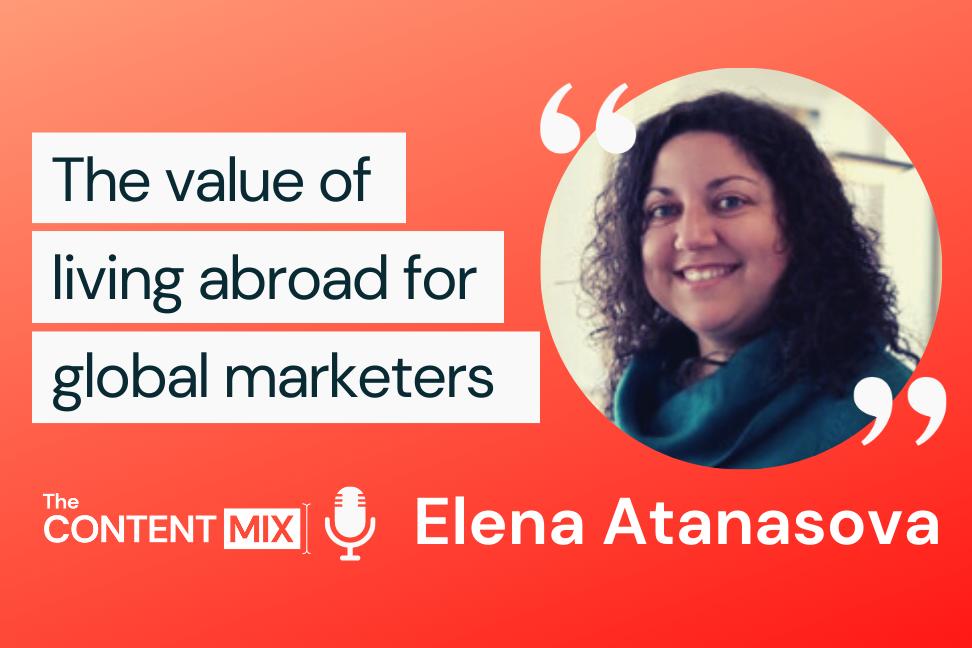 The Content Mix podcast interview with VeraContent's Shaheen Samavati and Elena Atanasova, on international marketing strategies: