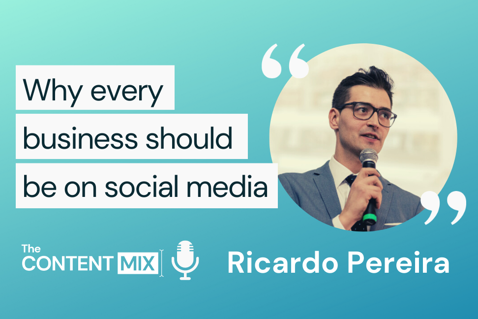 The Content Mix podcast interview with VeraContent's Shaheen Samavati and Ricardo Pereira, EMEA marketing and communications director at FRICON, on the importance of social media