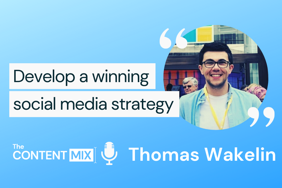 The Content Mix podcast interview with Thomas Wakelin, social media marketing manager for Microsoft's UK subsidiary, on social media optimization