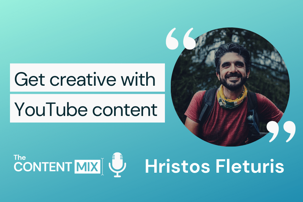 The Content Mix podcast interview with VeraContent's Shaheen Samavati and Hristos Fleturis, digital marketing manager at Scott Sports, on YouTube marketing