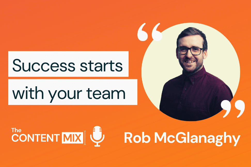 The Content Mix podcast interview with VeraContent's Kyler Canastra and Rob McGlanaghy, global marketing campaigns manager at TIBCO