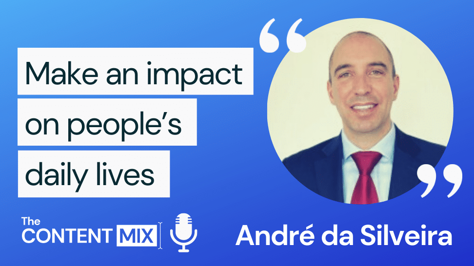 The Content Mix podcast interview with VeraContent's Kyler Canastra and André da Silveira, Senior Product Marketing Manager for the EMEA region at GE Healthcare Digital, on content marketing in the healthcare industry