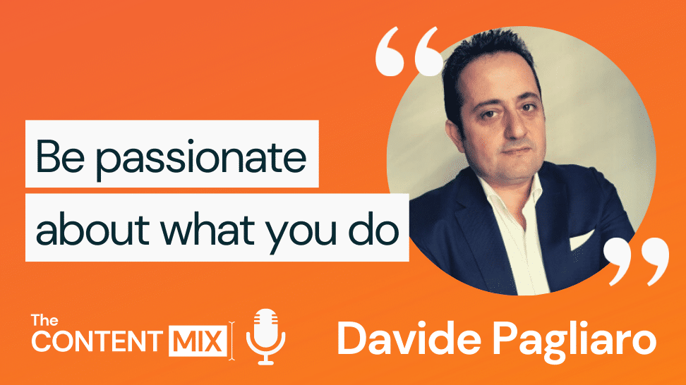 The Content Mix podcast interview with VeraContent's Kyler Canastra and Davide Pagliaro, EMEA marketing director at Merit Medical, on the key to success