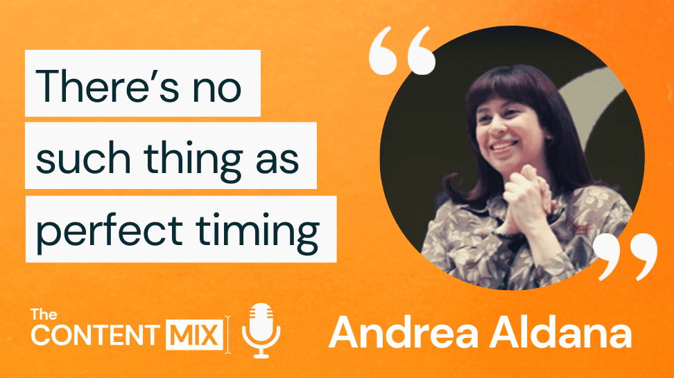 Here is a transcript generated by Otter.ai of The Content Mix podcast interview with VeraContent's Kyler Canastra and Andrea Aldana, on the path of a freelancer to agency owner: