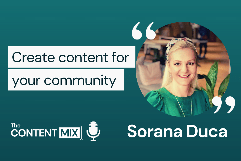 The Content Mix podcast interview with VeraContent's Kyler Canastra and UK-based Sorana Duca, on marketing in the charitable sector