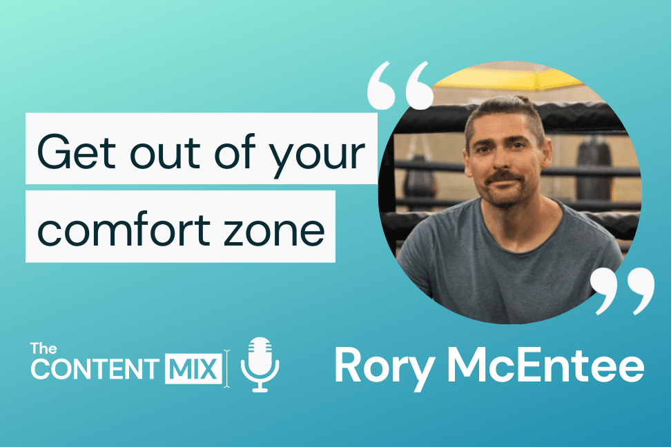 The Content Mix podcast interview with VeraContent's Kyler Canastra and Rory McEntee, brand and marketing director at Gymbox, on why brands should create disruptive content